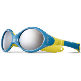 Julbo Looping III Spectron 4 Sunglasses 2-4Y Kids, blue/yellow-gray flash silver